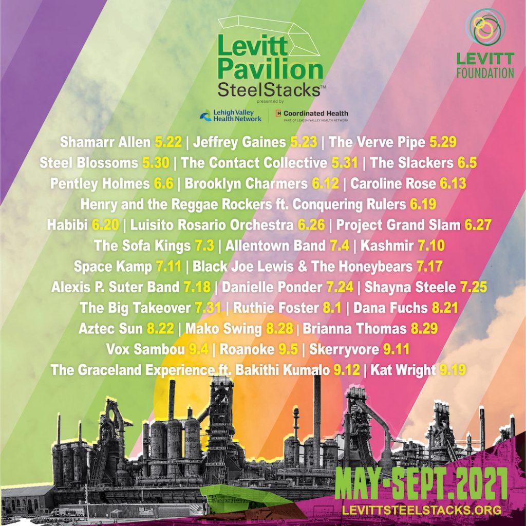 Levitt 2021 Lineup Poster_18x24