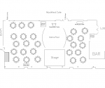 Musikfest Cafe Floor Plan