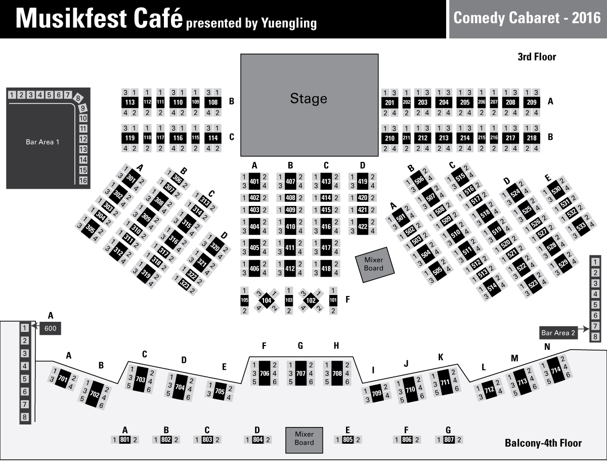 Musikfest Café Presented By Yuengling Steelstacks